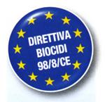direttiva biocidi unione europea 98/8/CE