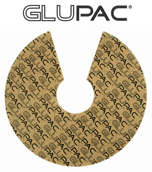 Piastra collante gialla Glupac per Insect-O-Cutor AURA