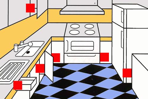 Solfac Gel Scarafaggi box è efficace quando è applicato in vicinanza di fessure, nei luoghi nascosti, negli angoli e in generale nei siti dove si nascondono gli scarafaggi