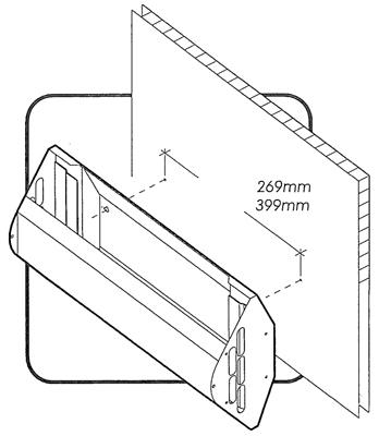 istruzioni per il montaggio delle lampade al collante per mosche e moscerini