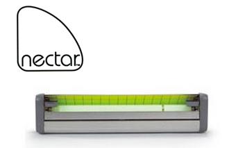 Nectar Lampada a UV con piastra collante decorativa con design discreto alla vista