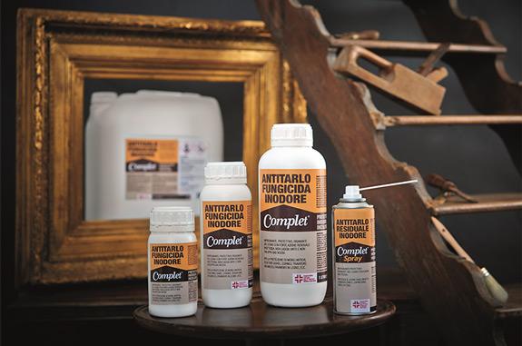Complet Antitarlo fungicida protettivo inodore incolore