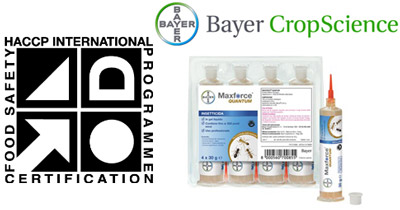 Maxforce Quantum Formiche certificazione internazionale HACCP per il Pest Control