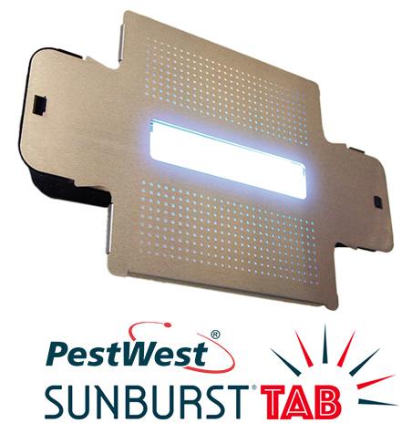 La PESTWEST SUNBURST TAB è l'ultima novità della gamma Sunburst