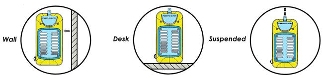 Insect-O-Cutor PLUSZAP 80w Acciaio Inox