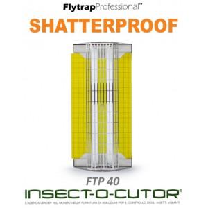 FLYTRAP PROFESSIONAL FTP40 Shatterproof + 1 Confezione di Piastre in Regalo