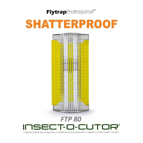 FLYTRAP PROFESSIONAL FTP80 Shatterproof + 1 Confezione di Piastre in Regalo