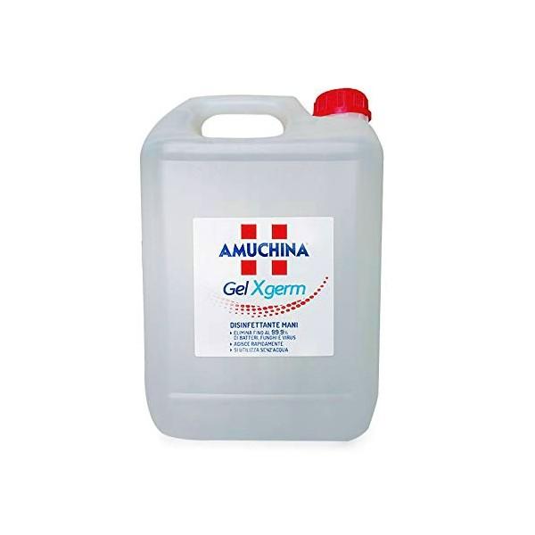 AMUCHINA GEL X-GERM DISINFETTANTE MANI da 5 litri